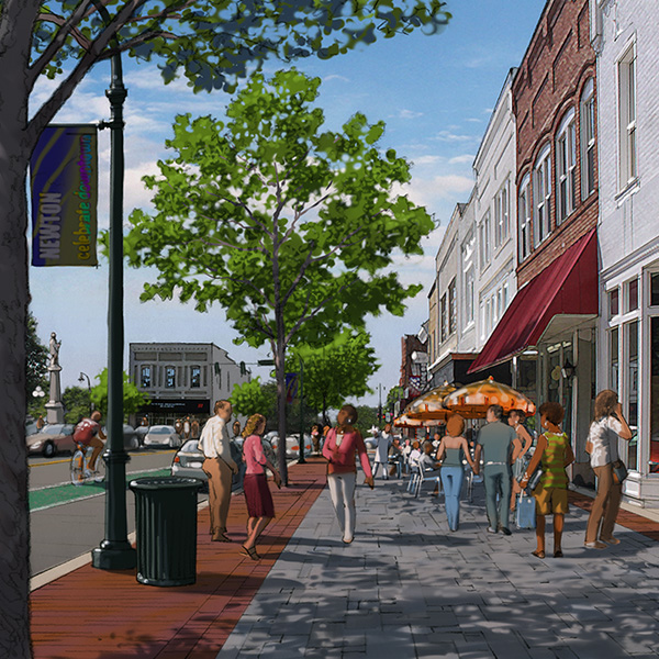 Newton's Downtown Master Plan
