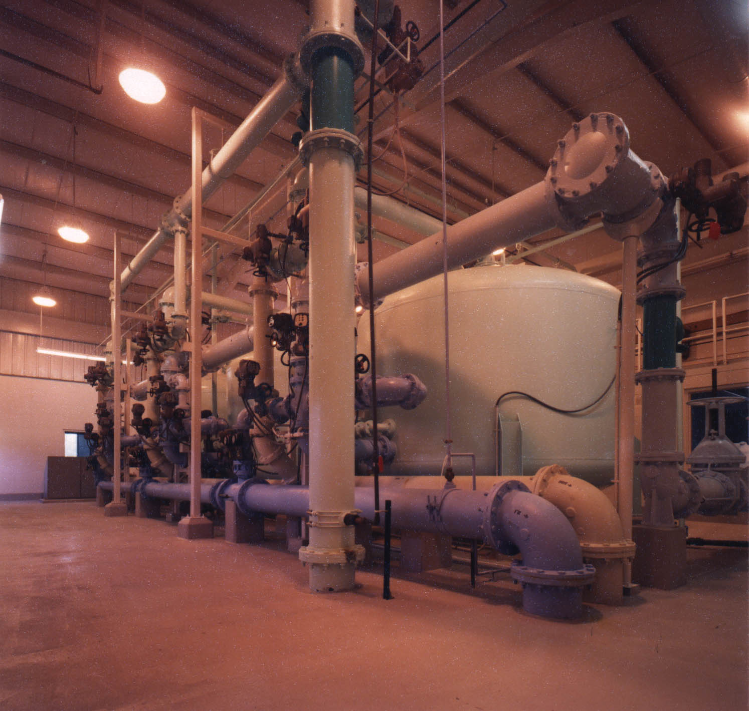 Clinton's Water Treatment Plant
