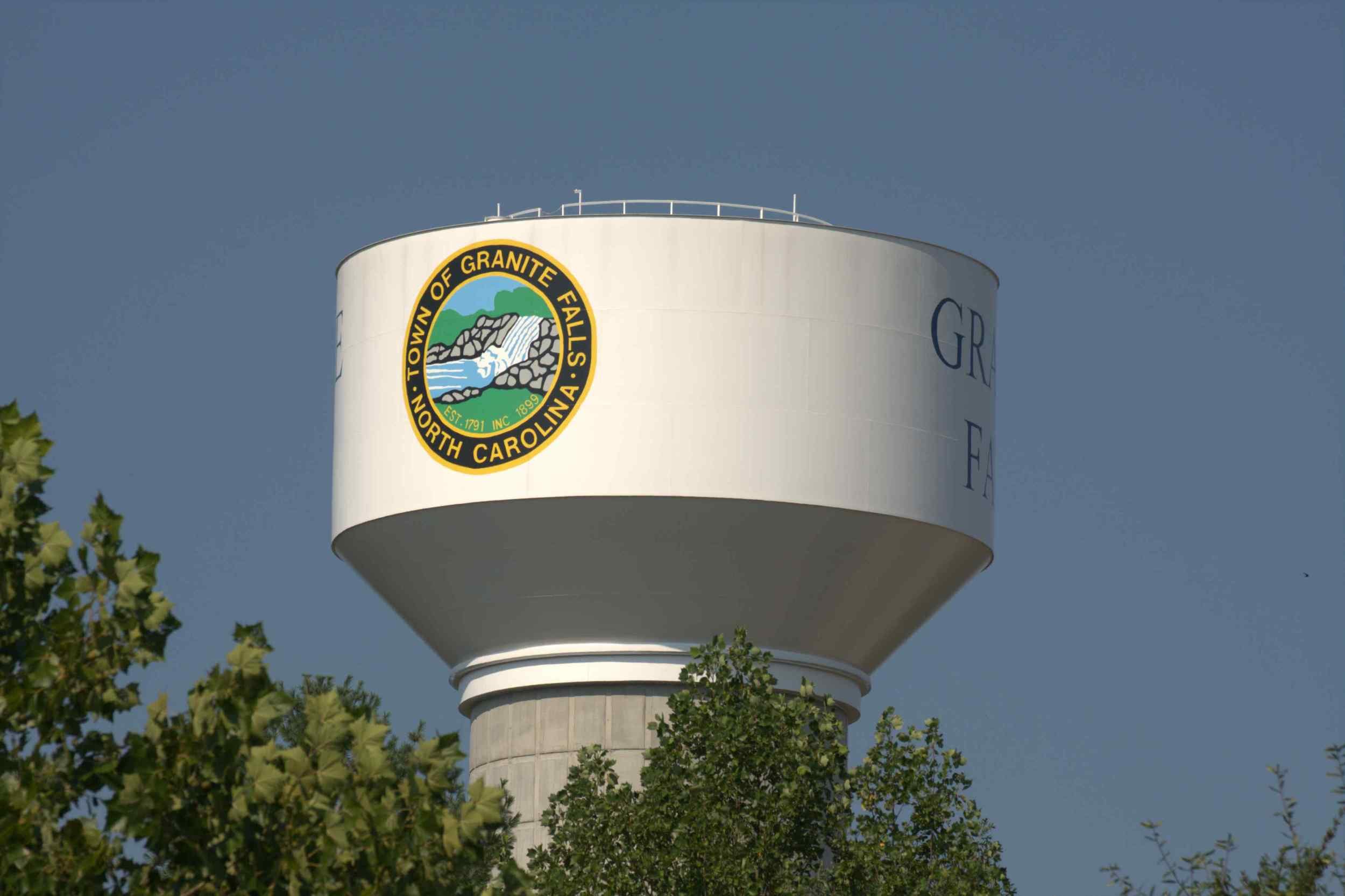 Granite Falls' Elevated Water Tank