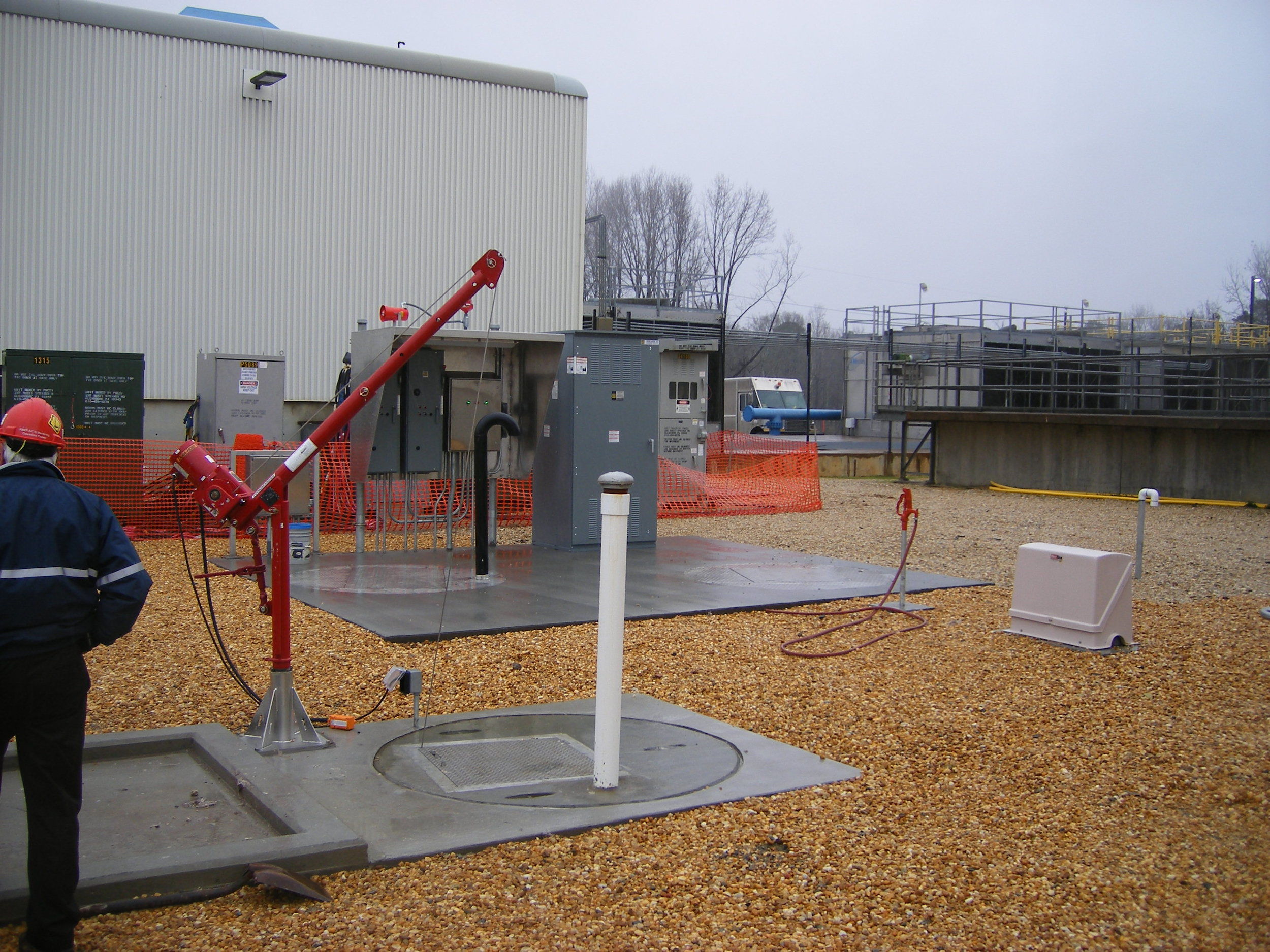 Cummins' Plant Wastewater Collection