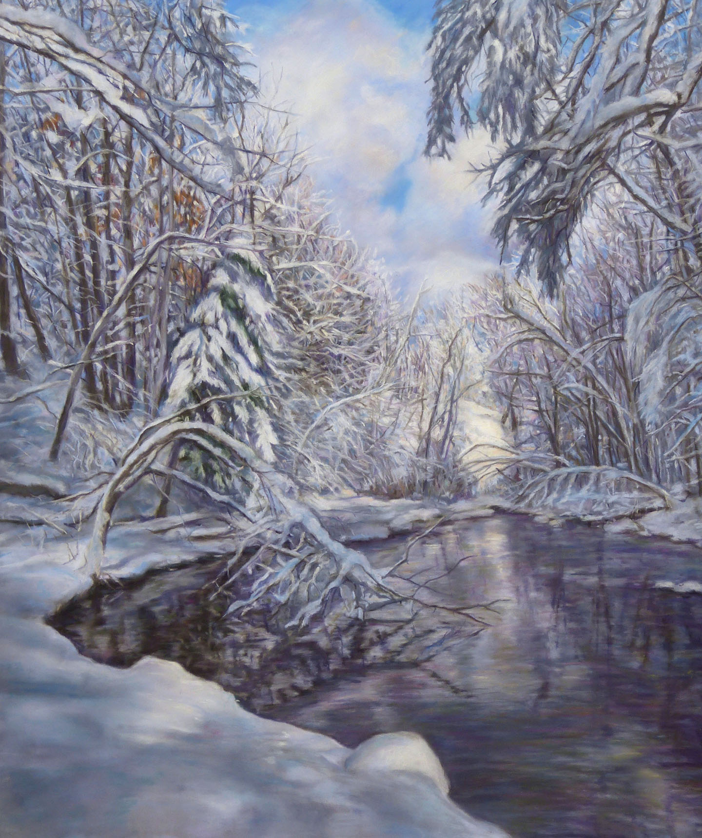 """""""After the Storm,"""" pastel, 19""""x16"""""""