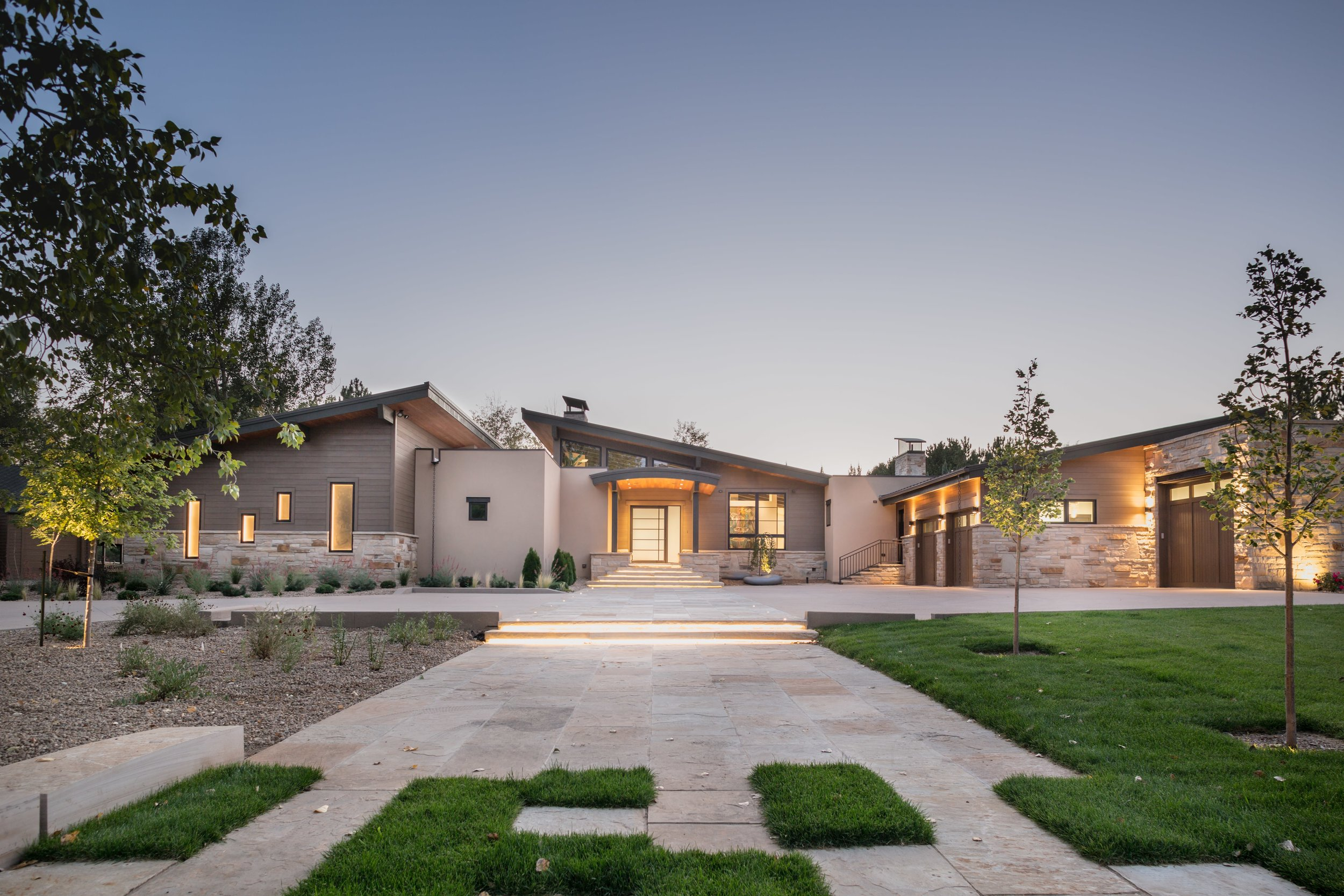 Architectural Photography Of Treeline Crest Residence Taken By The Harper  Point Architectural Photographers