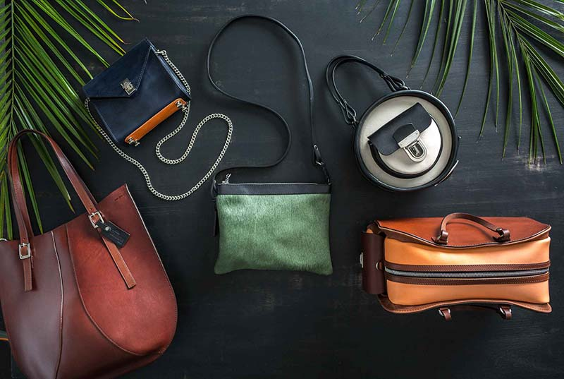 Product Photography in Camarillo of Women's Handbags Taken by Harper Point