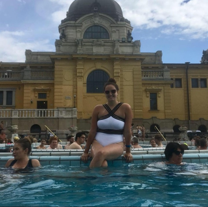 Relaxing at a thermal bath in Hungary