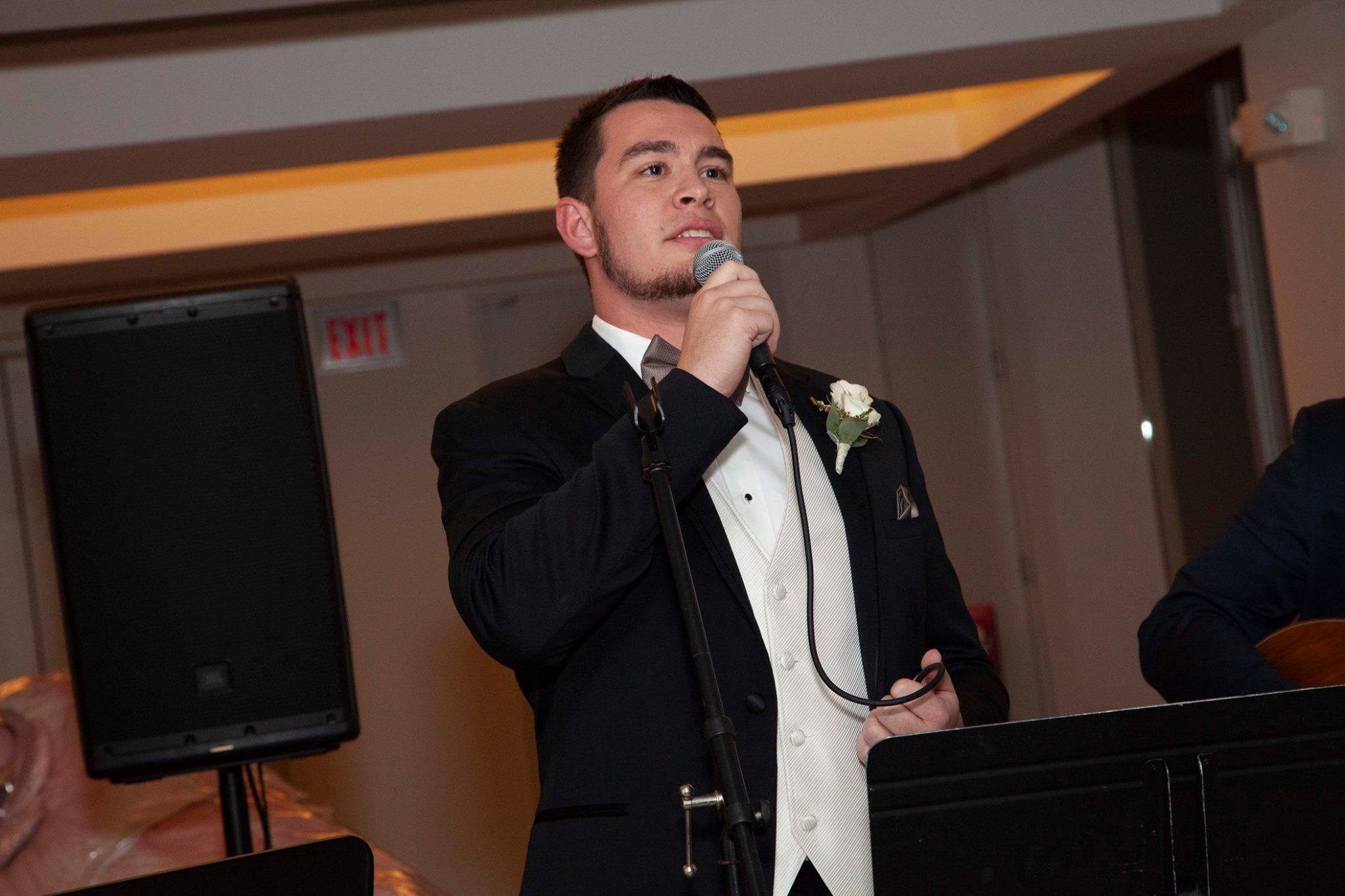 Singing Dean Martin @ sister's wedding