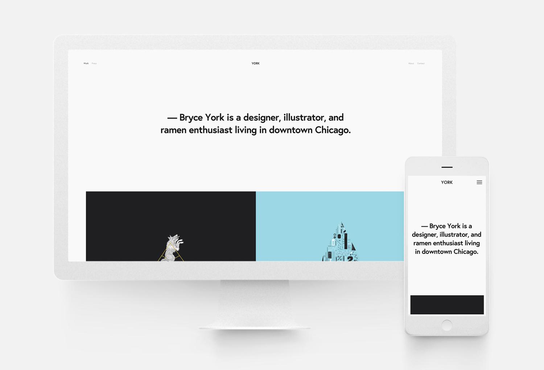 Squarespace Template York 10twelve Creative Agency Chicago