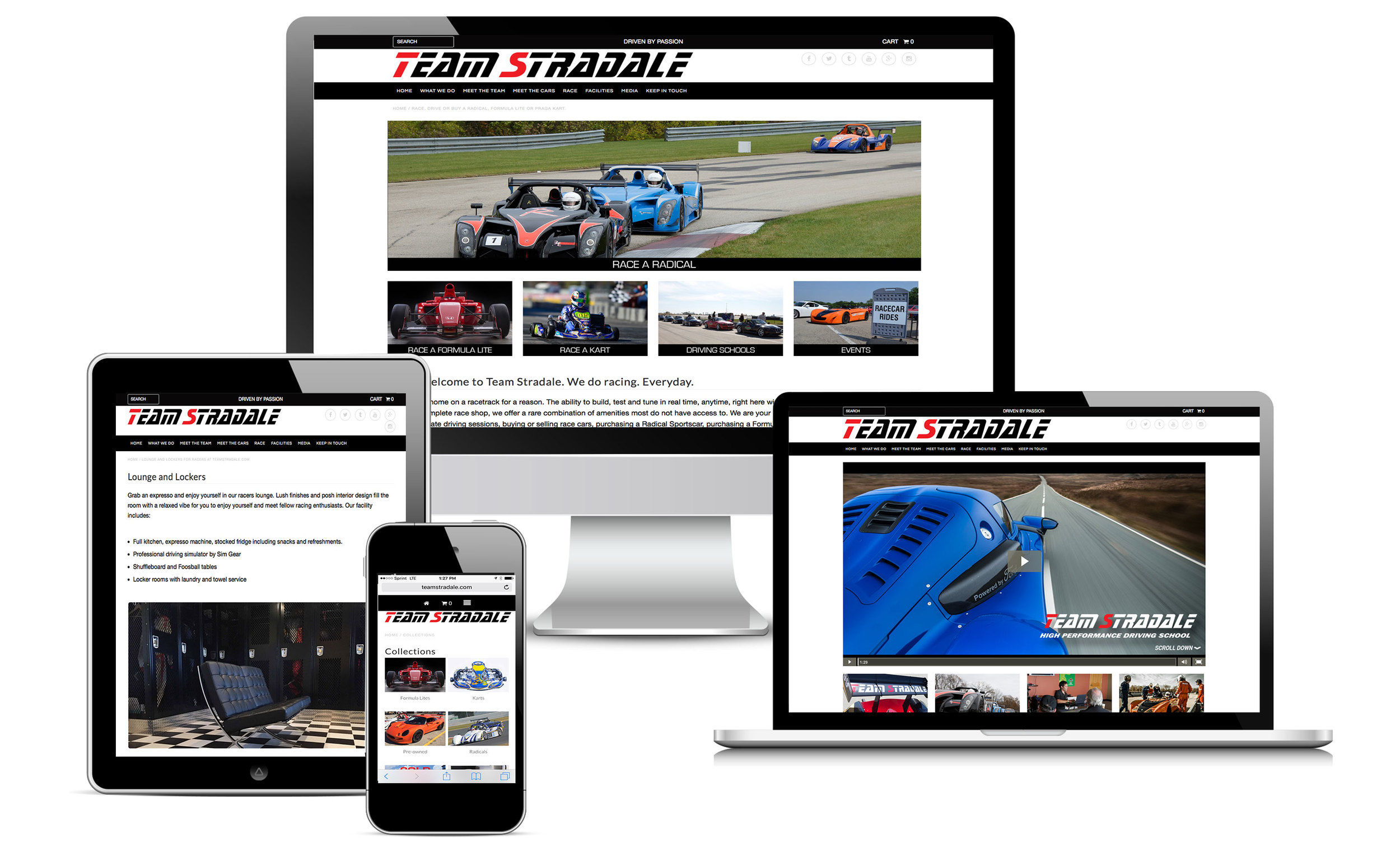 racing enthusiast small business