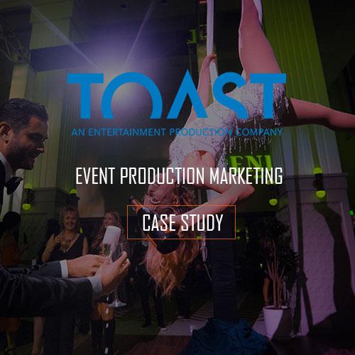 EVENT PRODUCTION WEBSITE MARKETING