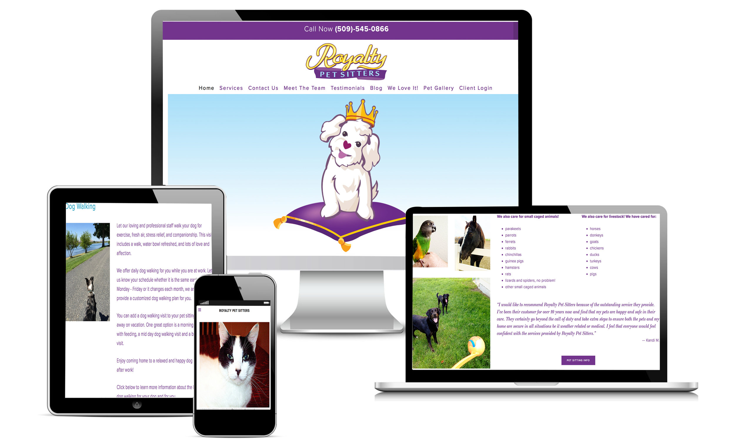 ROYALTY PET SITTERS