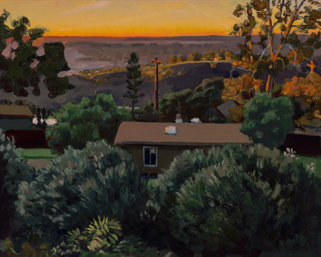 Dusk and view of Lemon Grove