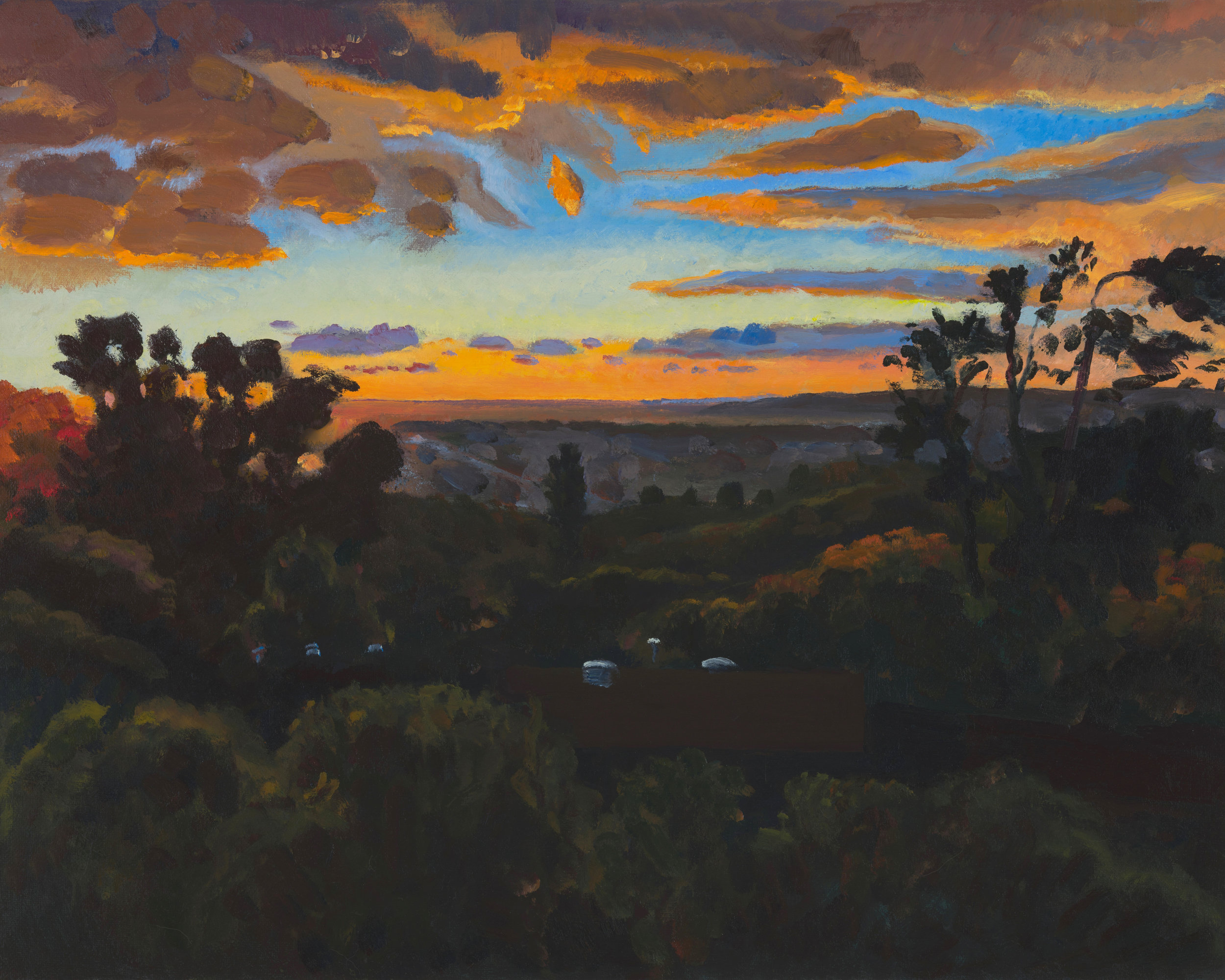 Sunset over Lemon Grove