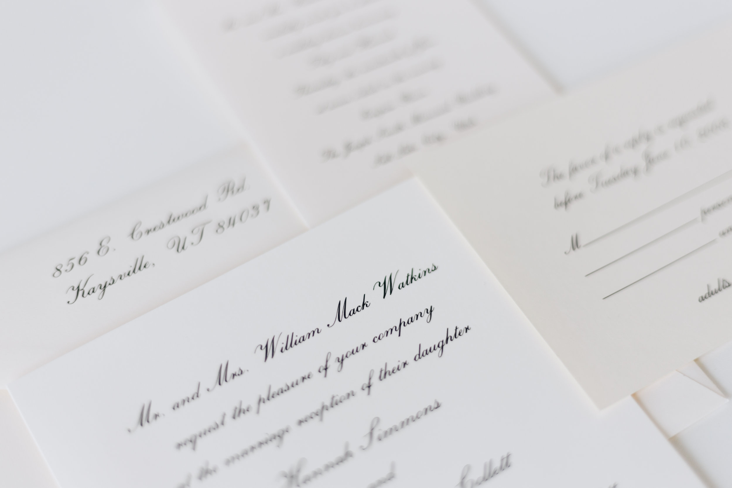 Wedding Invitations Set the Tone for your Wedding. Sending digital copies cannot amount to the elegance of classic stationary.