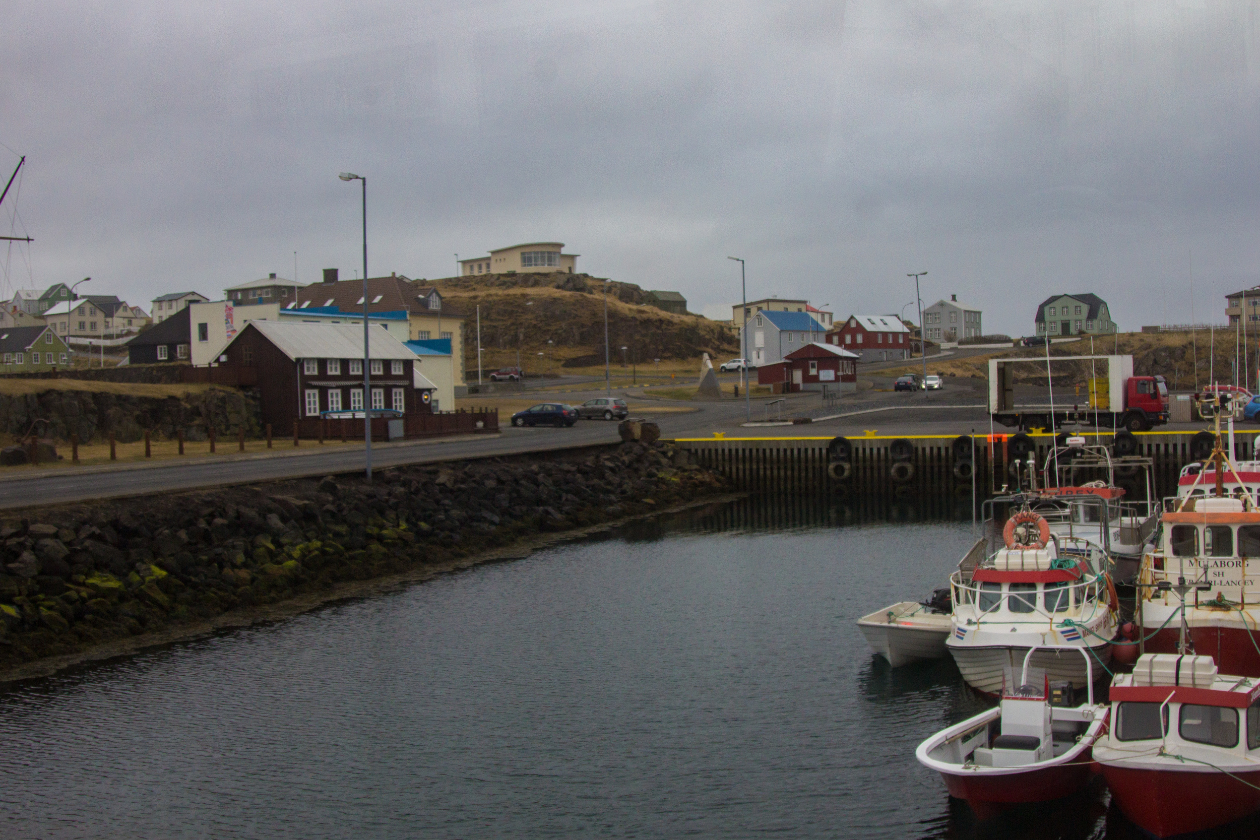 You might recognize Stykkishólmur  from Walter Mitty.