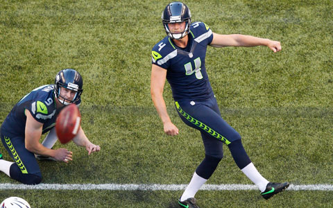 Hauschka with the sweetest follow through