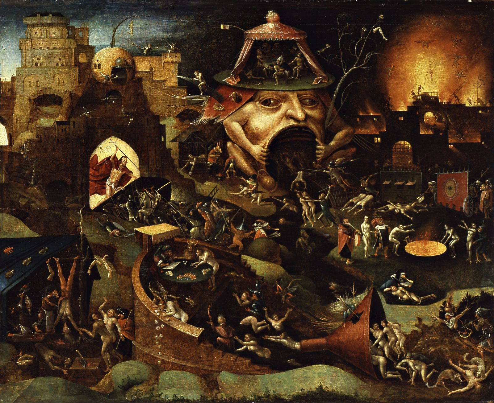 Heironymus Bosch - Hell 1504