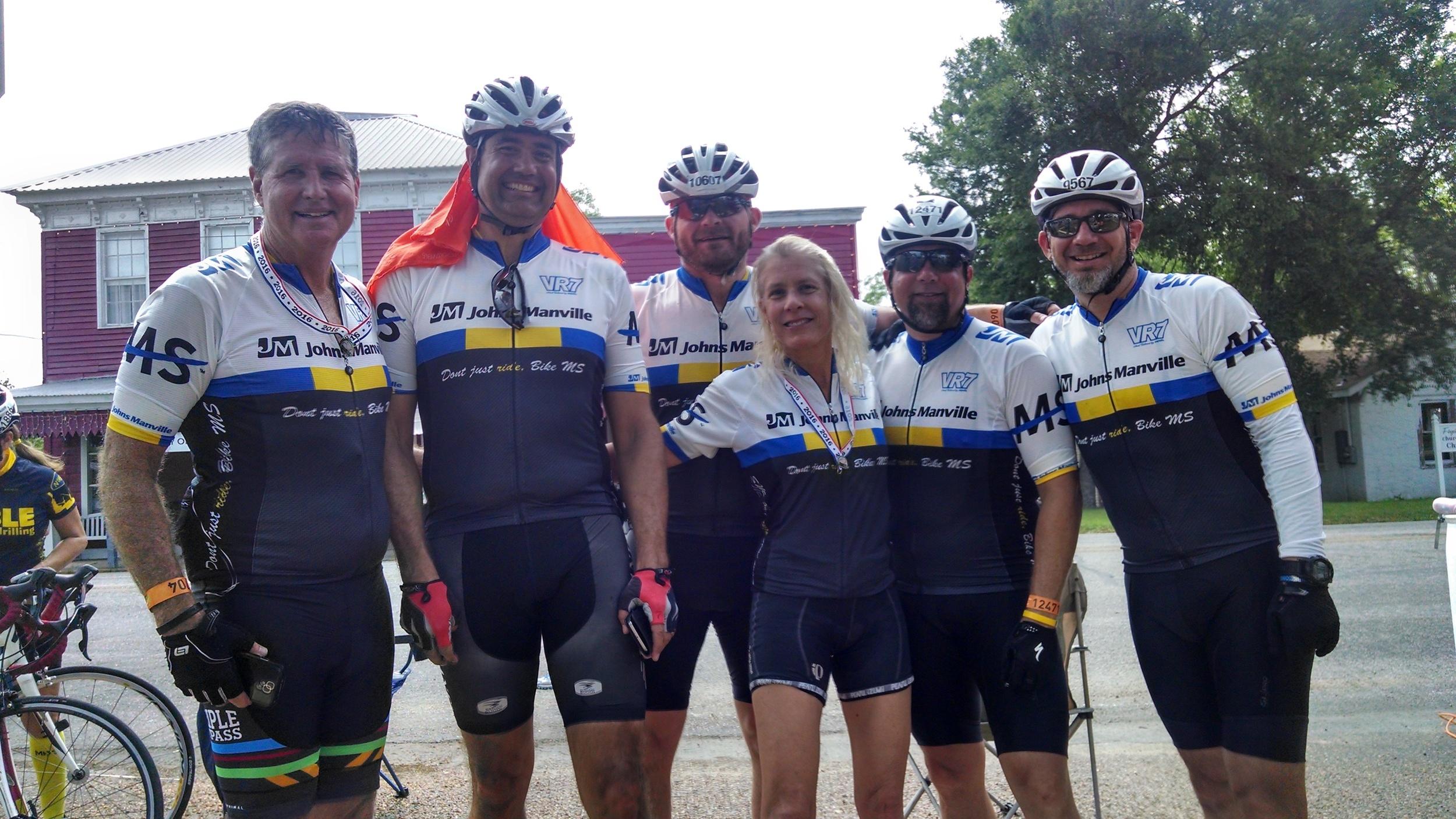Houston Bike MS Team JM