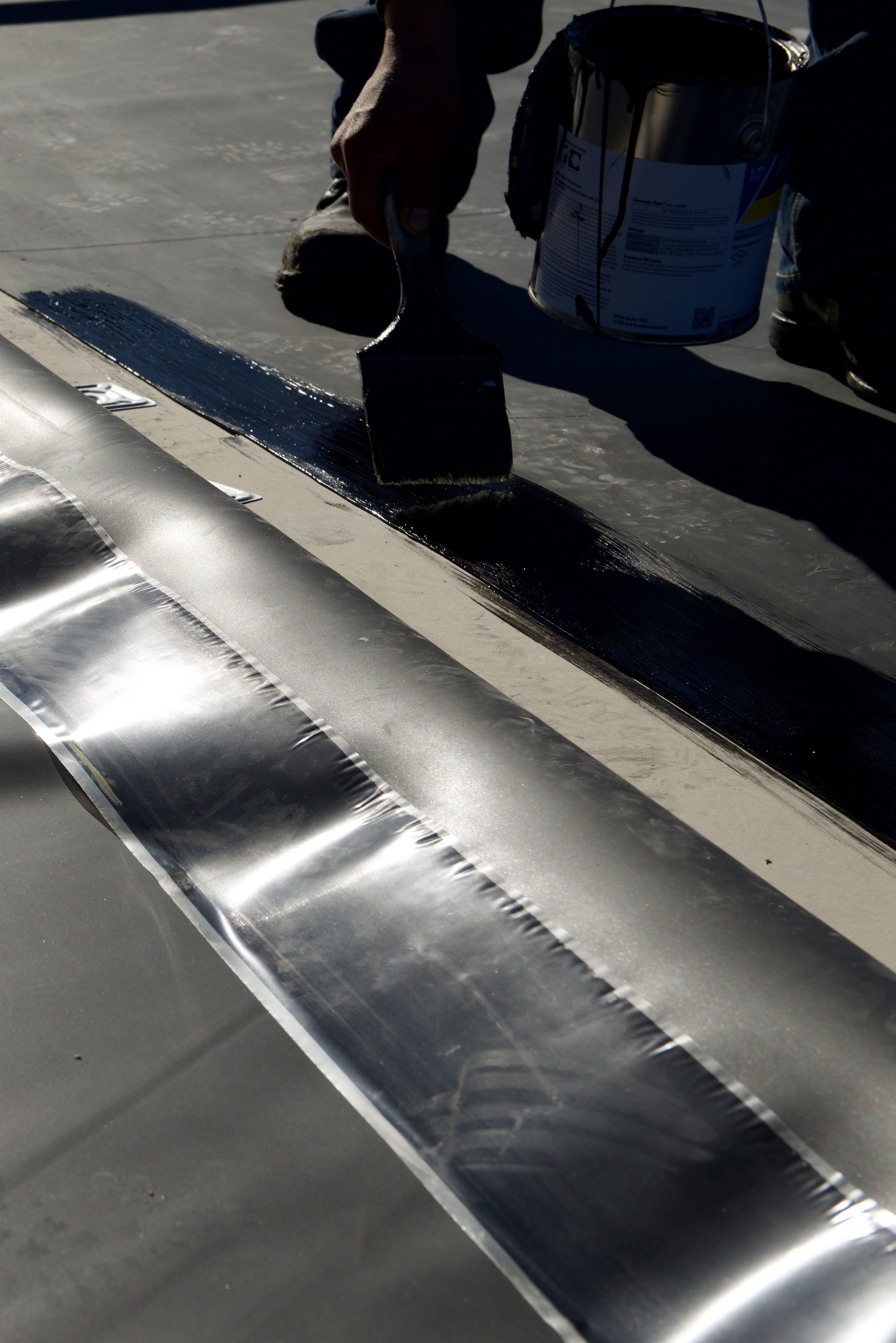 EPDM roofs can be easily repaired and restored without the use of sophisticated, complicated equipment.