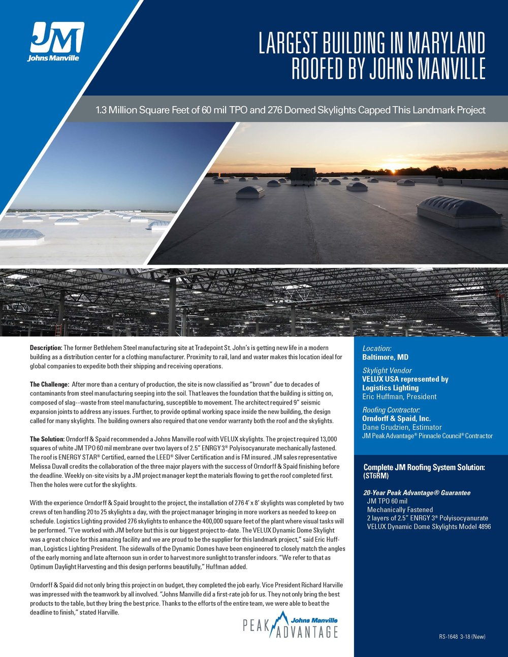 Case Studies Commercial Roofing News