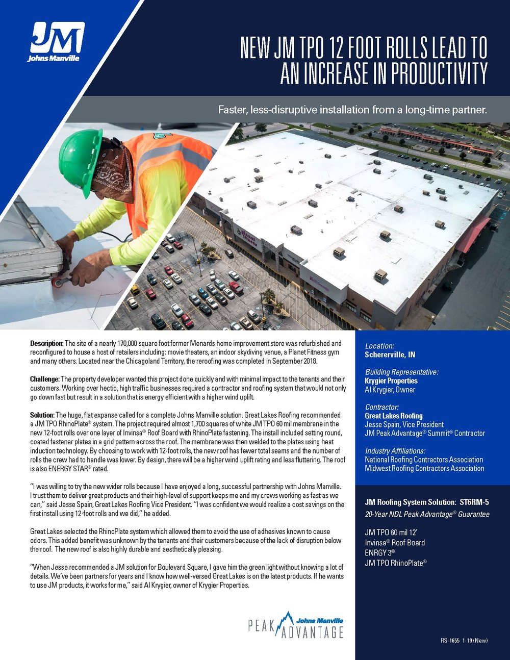 Case Studies — COMMERCIAL ROOFING NEWS