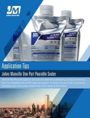 JM One-Part Pourable Sealer