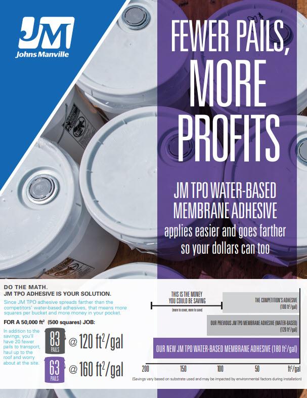 JM TPO Water Based Adhesive