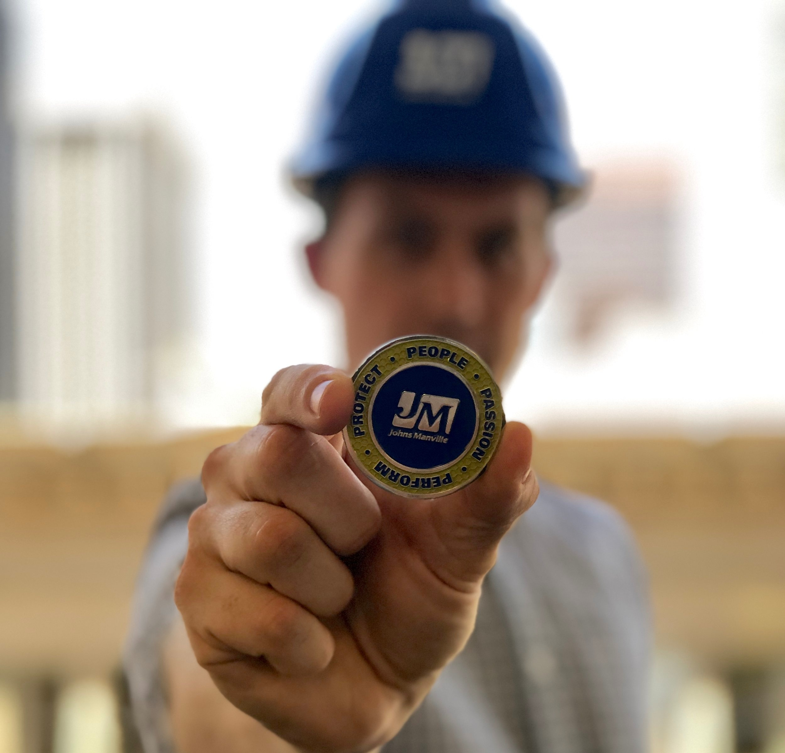 Safety Coins – These are meant to be in the employees pockets to remind them to Stop, Breathe, Think, Plan and Proceed before taking action
