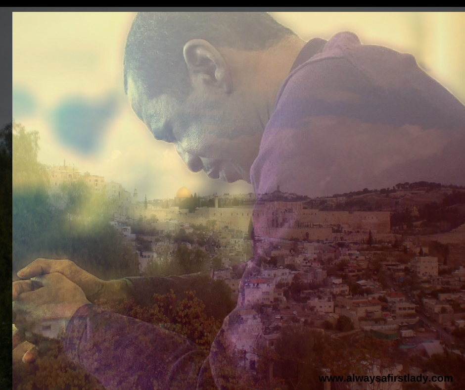 Pray for peace in Jerusalem.  May all who love this city prosper. Psalm 122:6 NLT