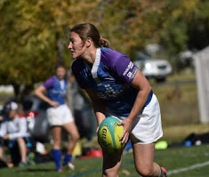 Jennifer Page - Years playing rugby: 15+Positions played:Scrum Half, Wing, CenterFavorite quote: