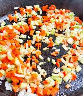 sautéed veggies