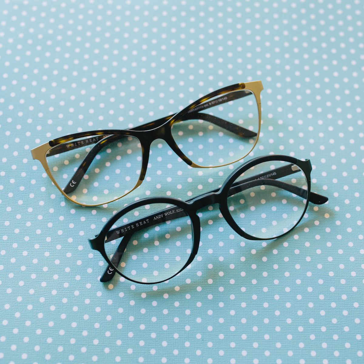 Look East carries Andy Wolf frames