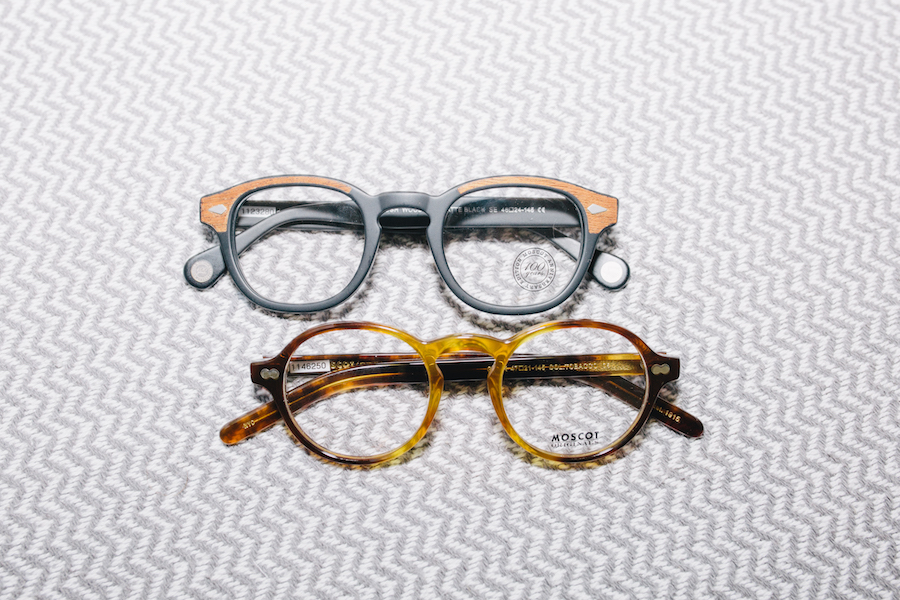 Moscot eyeglasses at Look East in Nashville