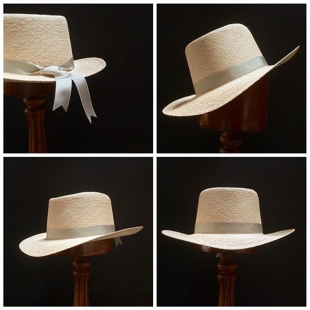 Weave: Torcido Grade: 8 Brim Set: Trim: 7/8 inch Grosgrain Ribbon