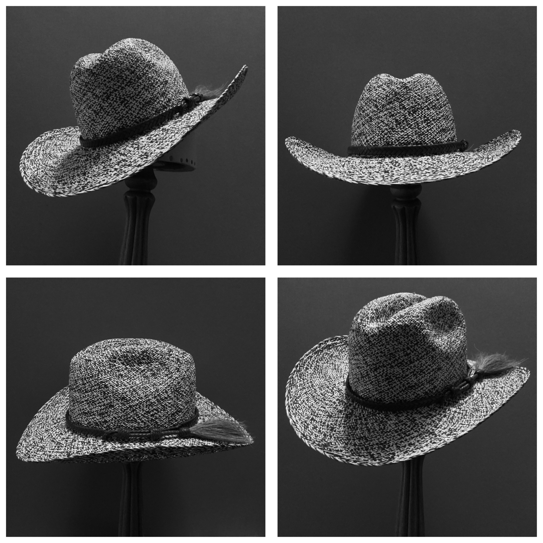 Weave: Perdiz Grade: 3 Brim Set: Vogue Trim: Braided Leather with Horsehair Tassel