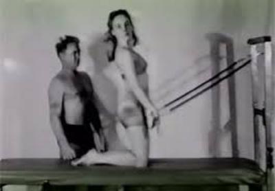 Joseph H Pilates with Romana Kryzanowska