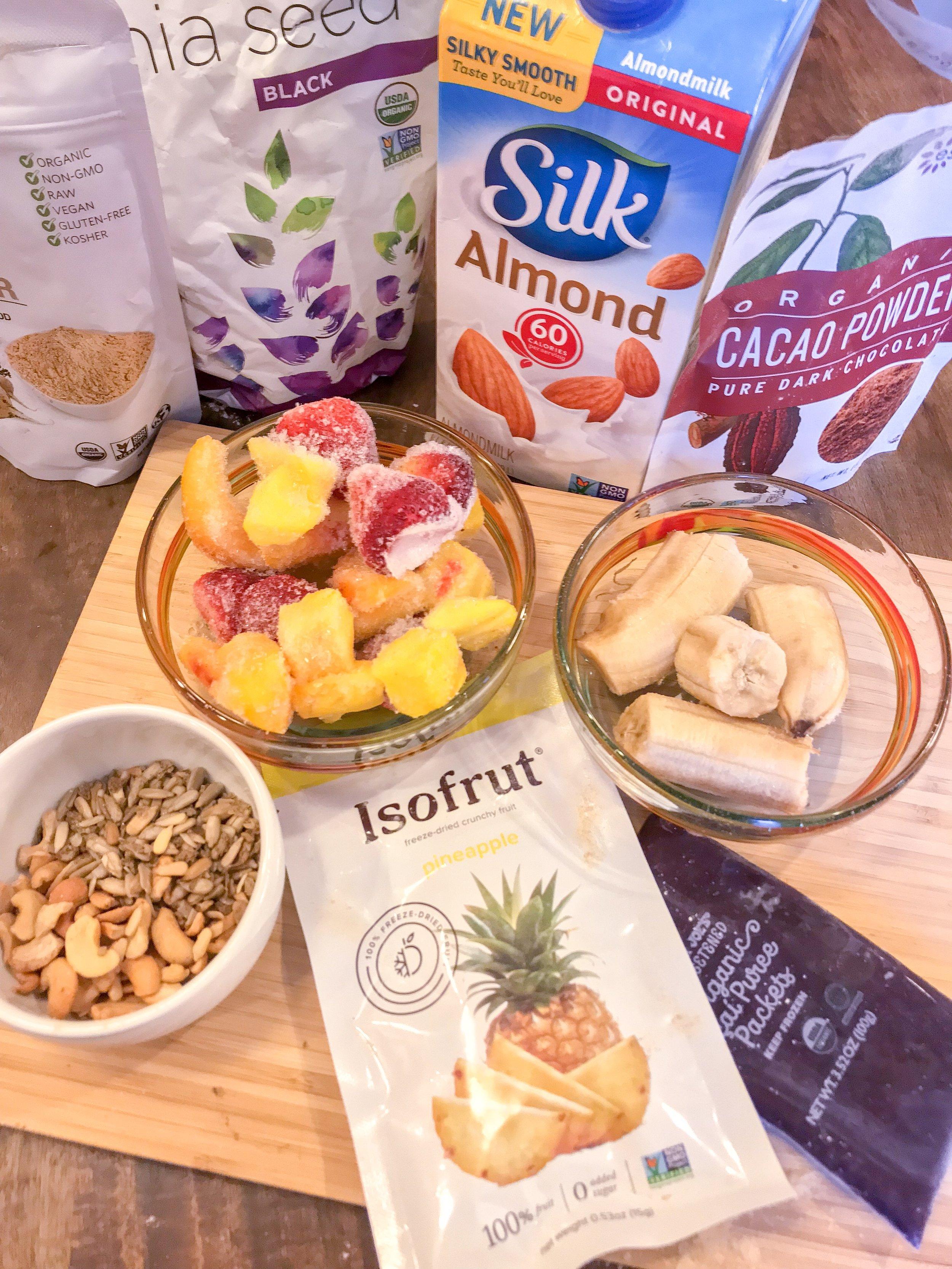 jessi fit pilates tropical acai bowl iso frut