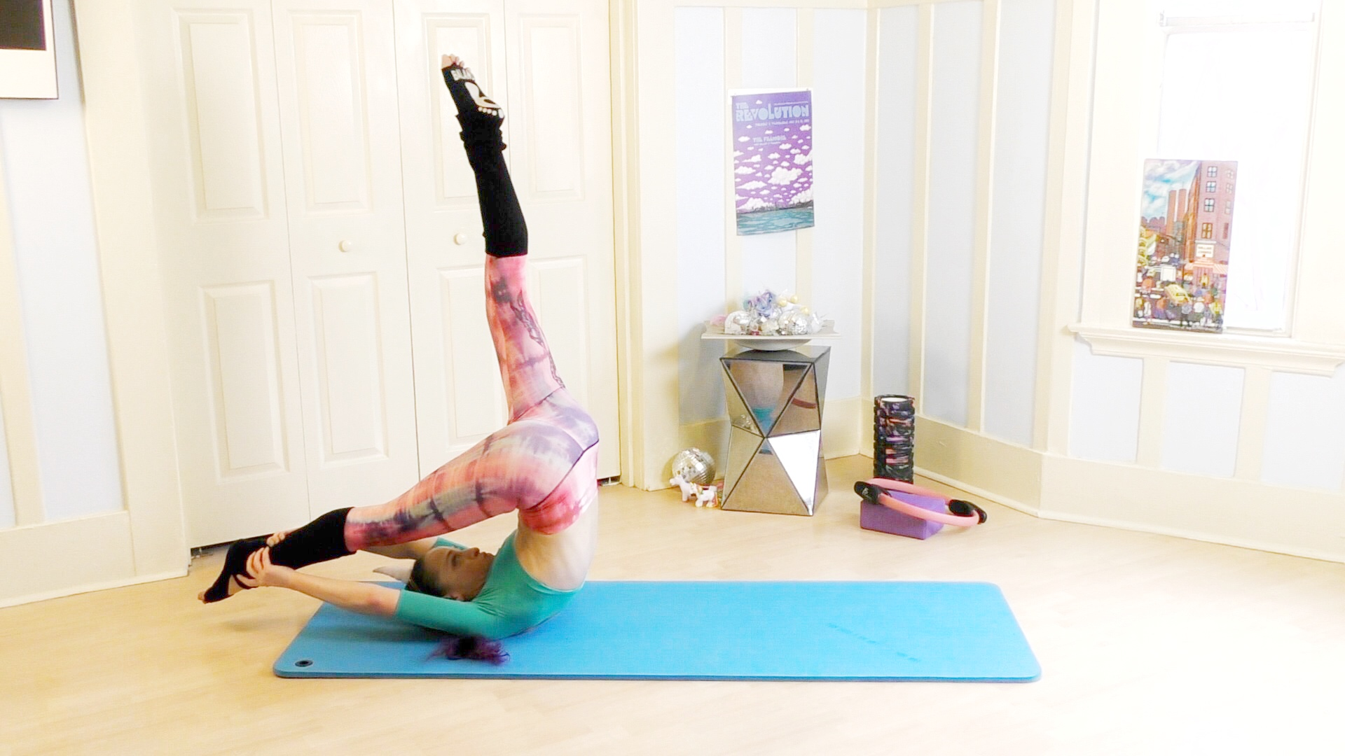 Get a leg up, with pilates today!