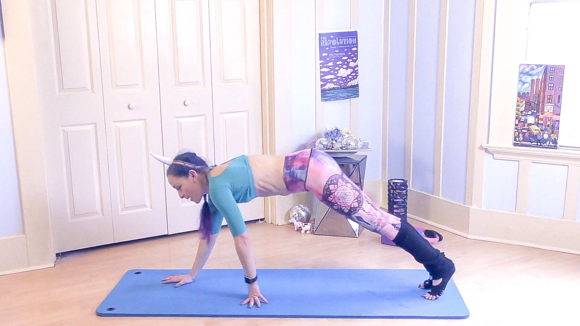 pilates push up march matness unicor jessi fit pilates
