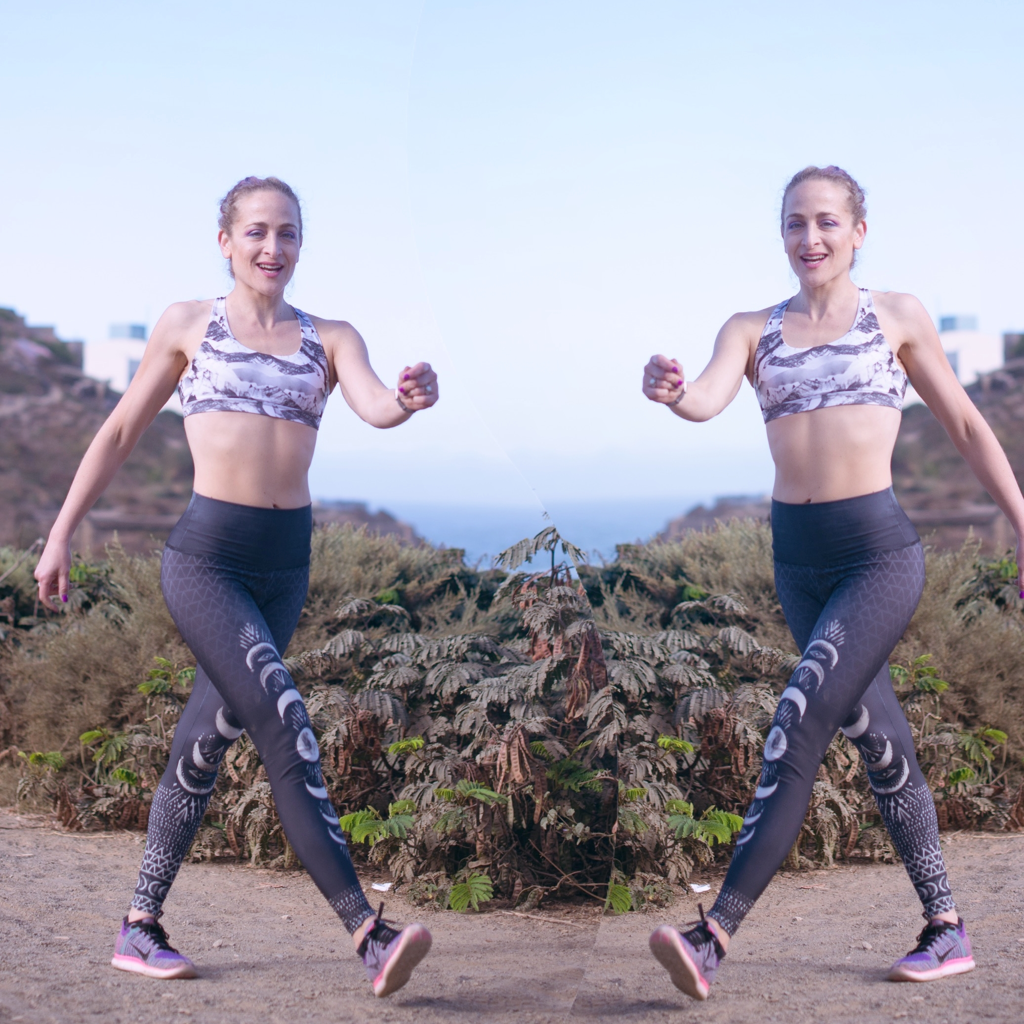 You arent seeing double- two workouts with me ahead!