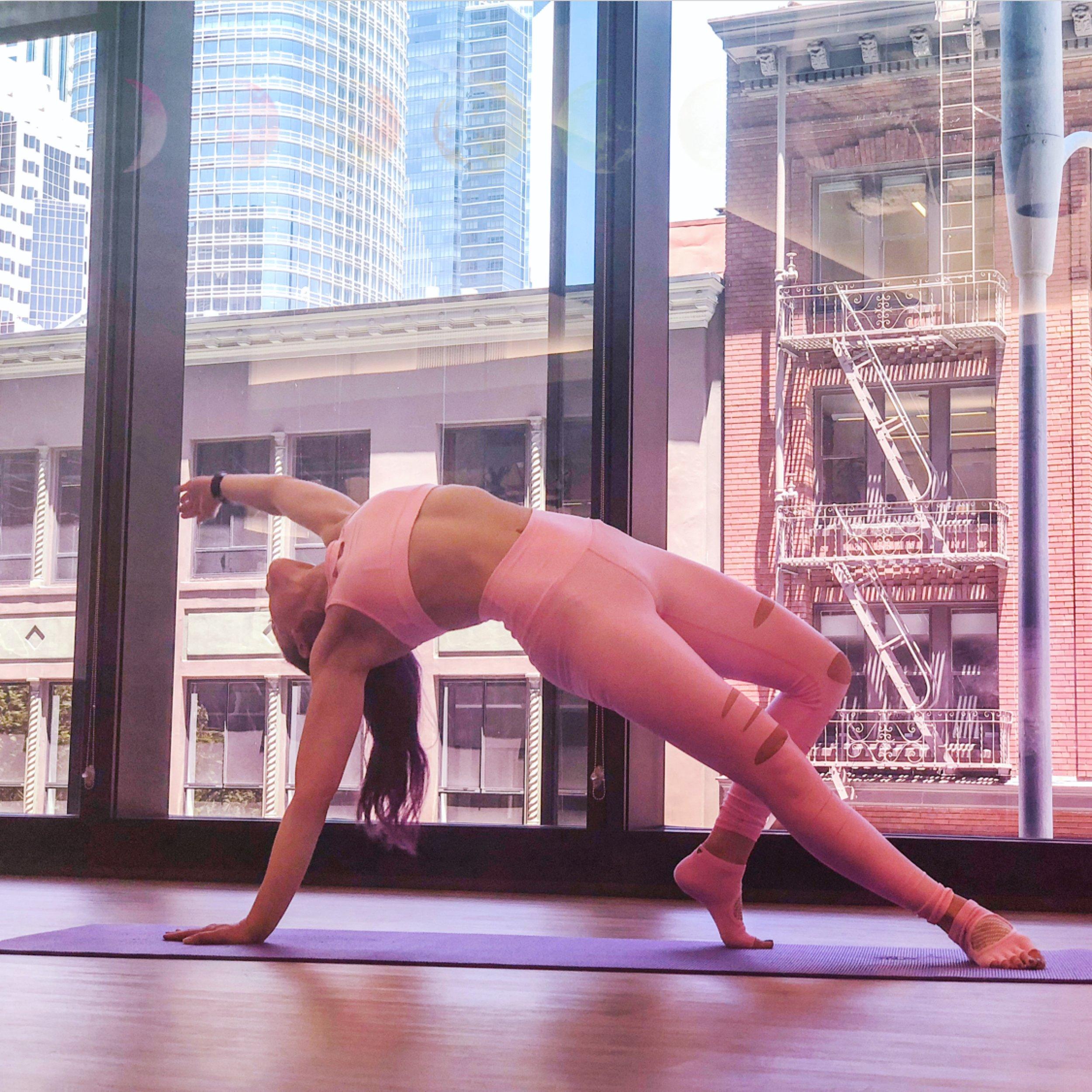 jessi fit pilates wild thing yoga workout