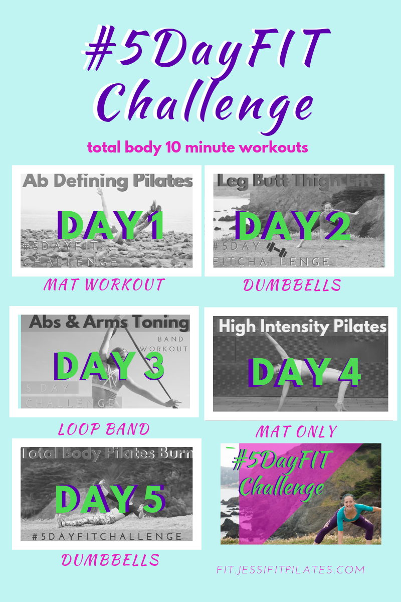 5 day fit plan videos