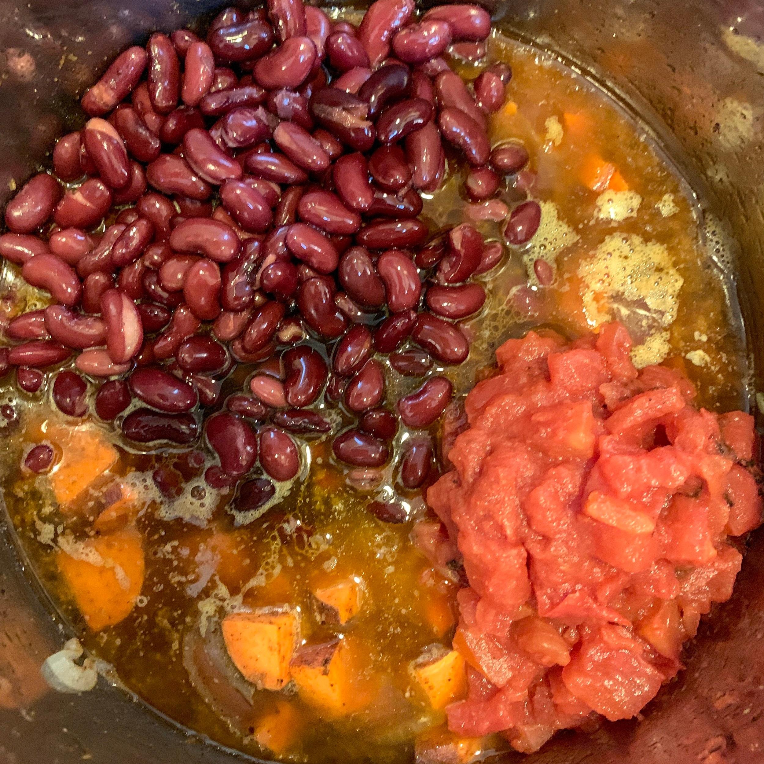 instant pot recipe instructions maple bourbon chili