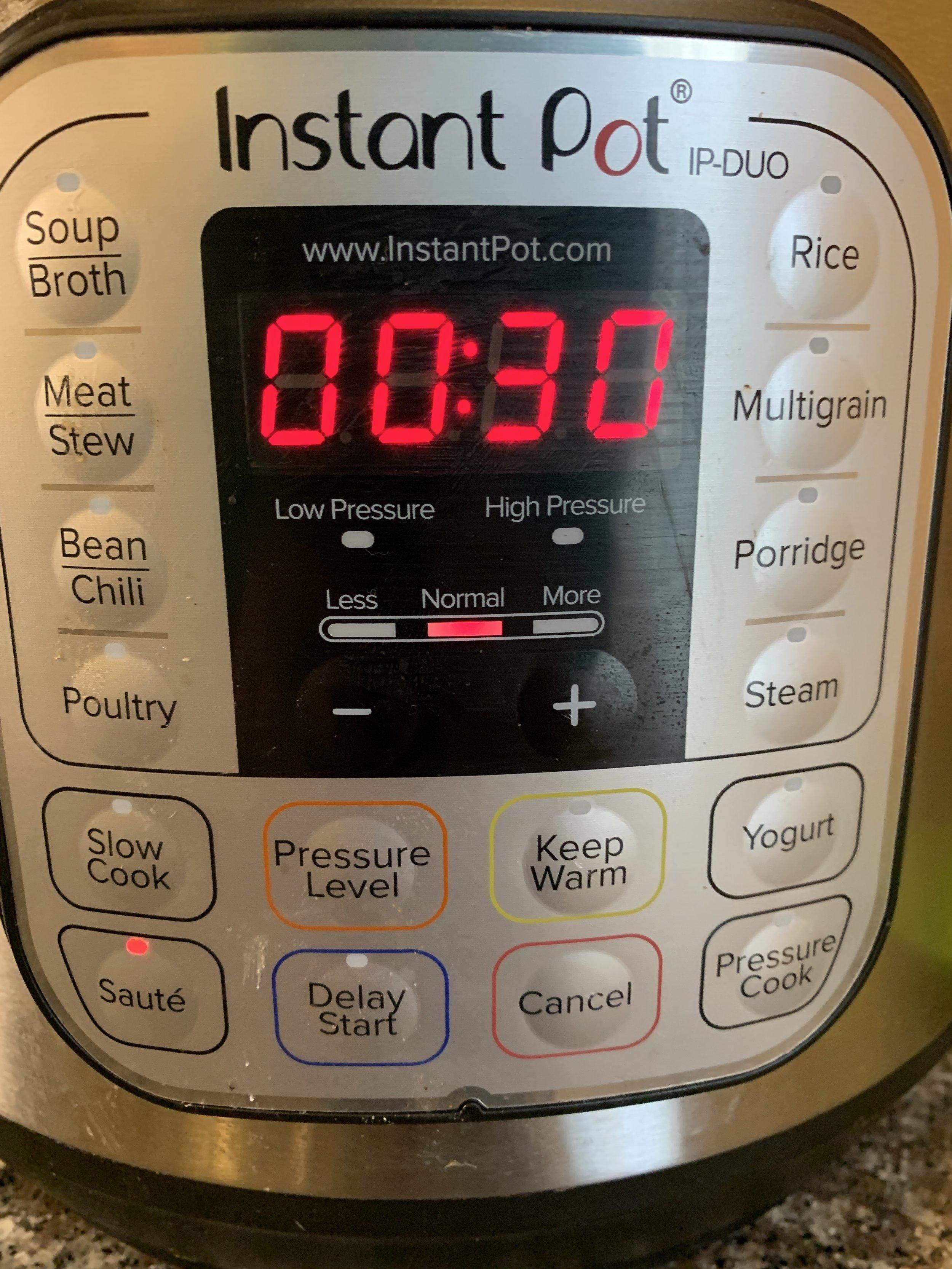 instant pot 30 seconds jessi fit pilates