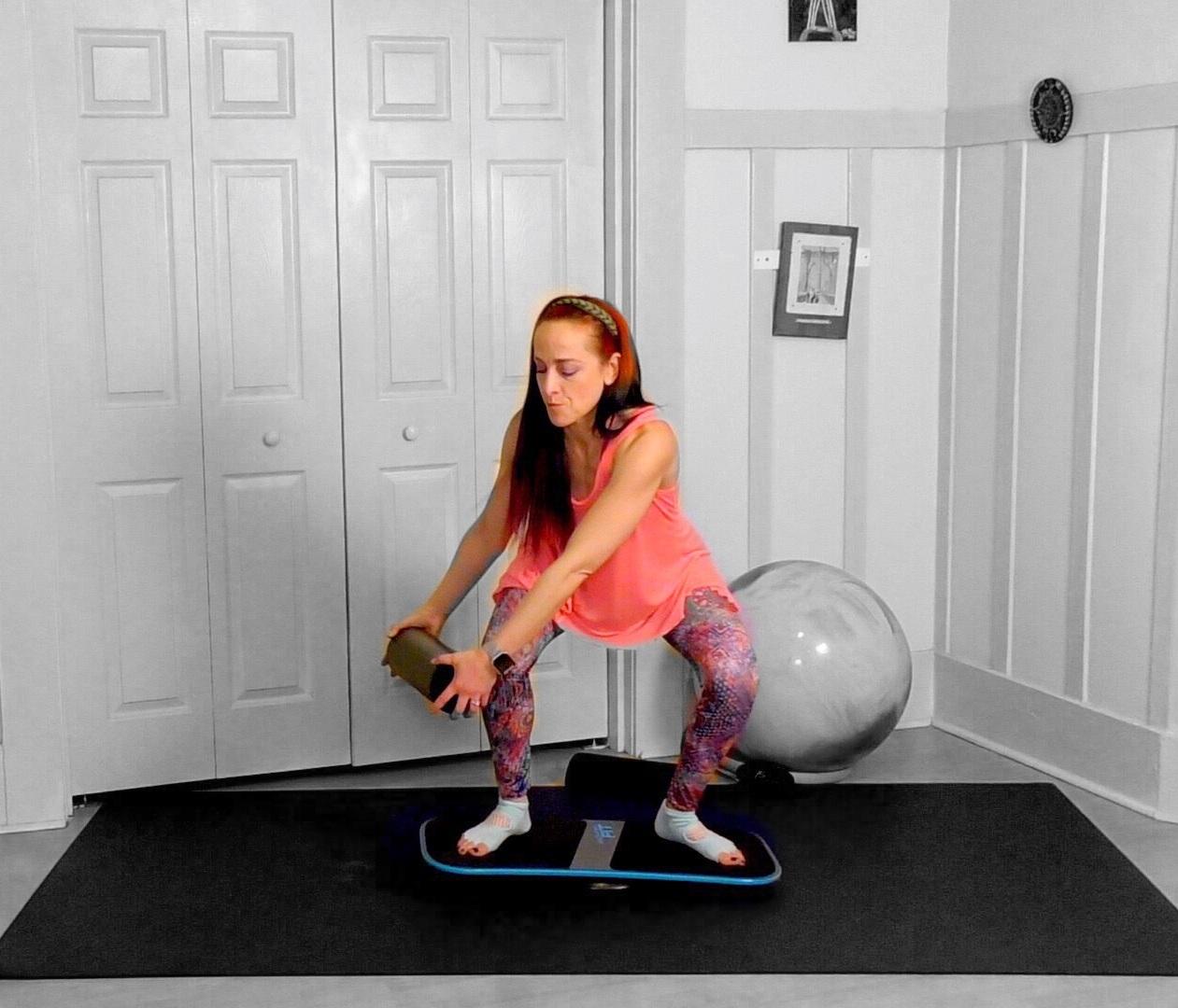 pilates balance board exercise jessi fit pilates