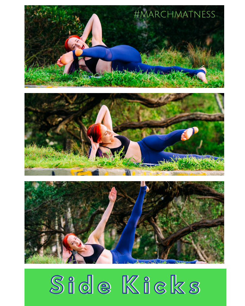 side kicks blog pilates workout pilates move pilates exercise