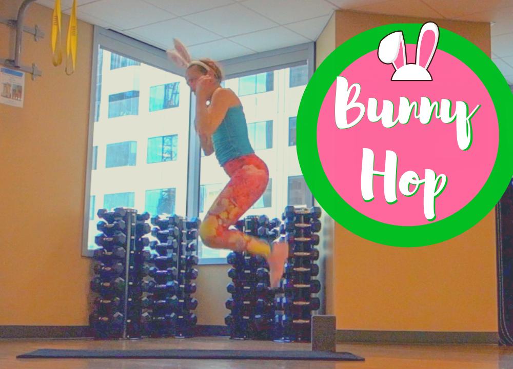 jessi fit pilates tuck jump  bunny hiit
