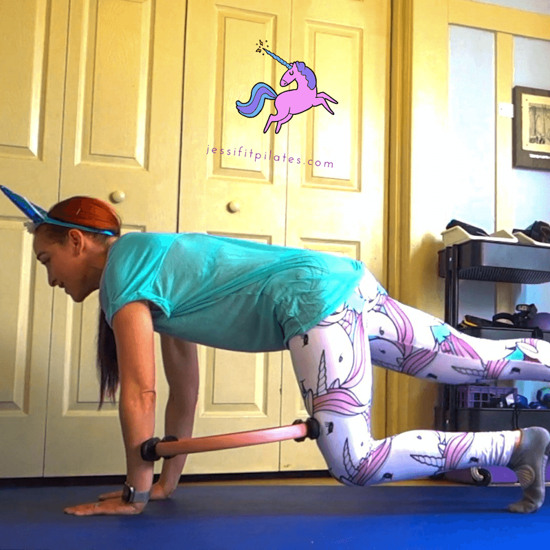 unicorn booty magic circle exercise jessi albin