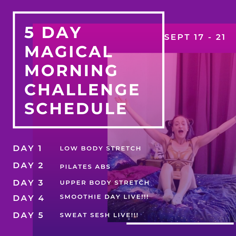 schedule main magical morning challenge photo