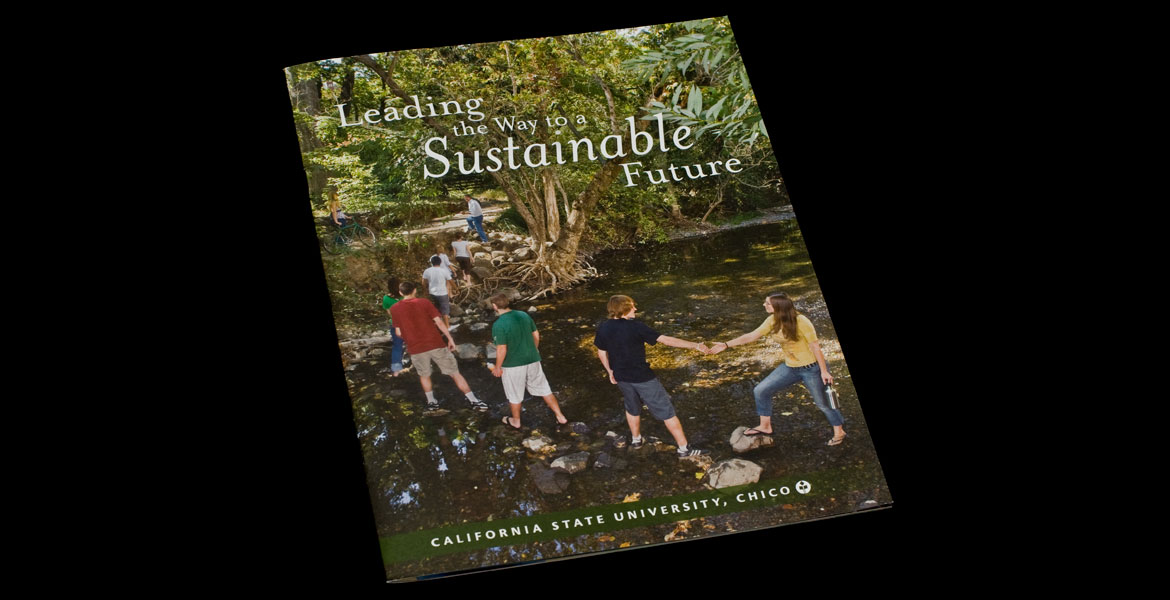 Sustainability Booklet Cover