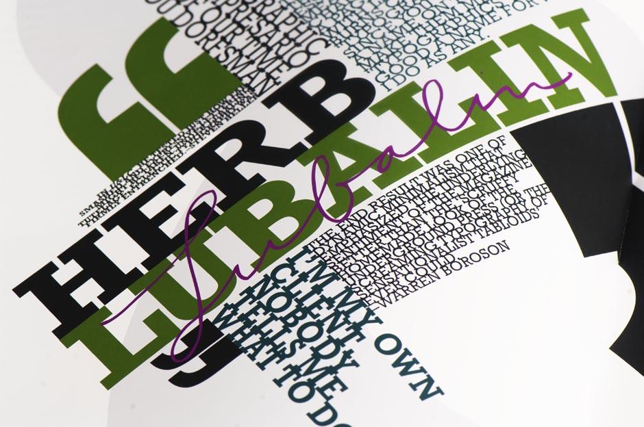 Typographic Detail