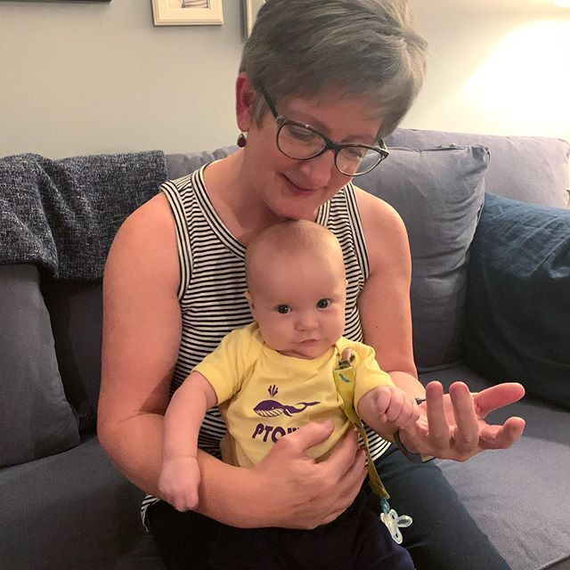 Milo's grandma @aquamo came to visit and it was very fun!